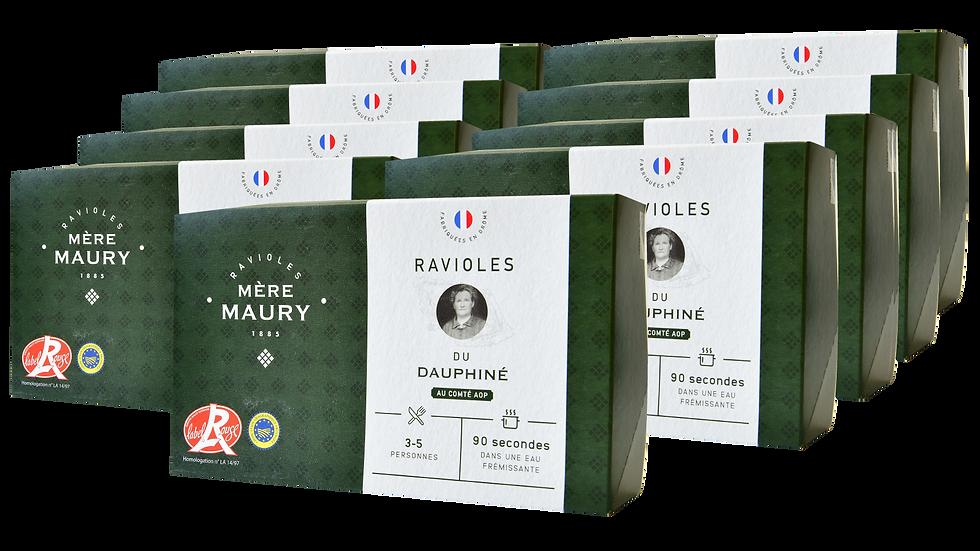8 boîtes de 9 plaques + la 9ème boîte offerte = 9,33€/boîte