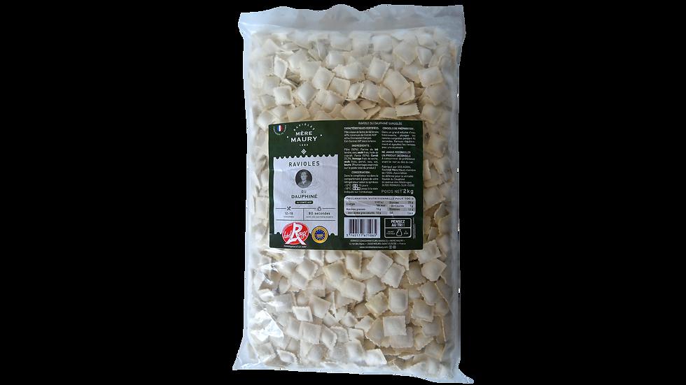 Ravioles du Dauphiné - surgelées - 2kg