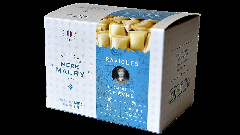 Ravioles au Fromage de Chèvre - surgelées - 600g