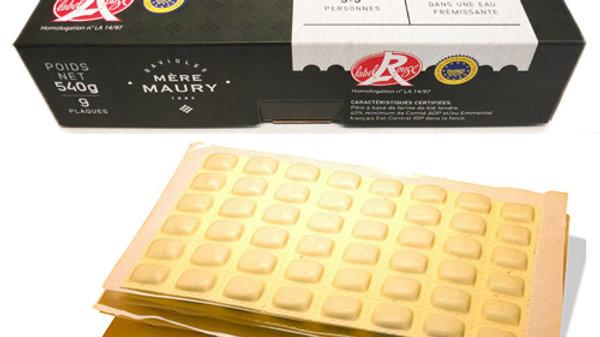 4 boîtes de 9 plaques + 1 bq 4pl de Ravioles au Basilic offerte = 9,75€/boîte