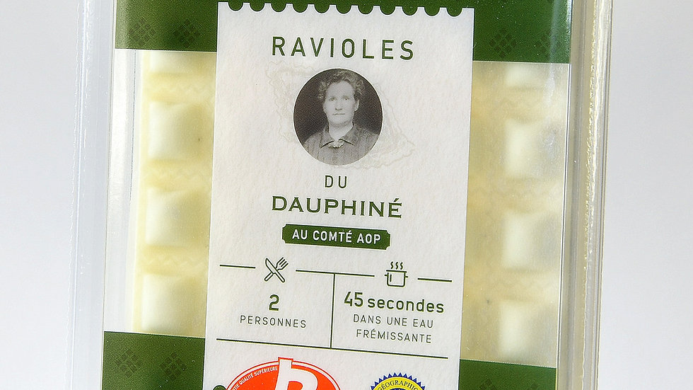 Ravioles du Dauphiné Label Rouge - 12 x 4 plaques  (3,73€ la barquette)