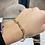 Thumbnail: 14K Paper clip bracelet 3.02 g