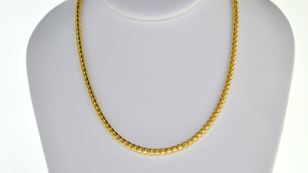 "14K Solid Franco Chain 50.6g.  ""24"""