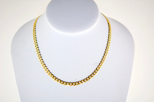 14K Solid Curb chain 13.2g Link 20""