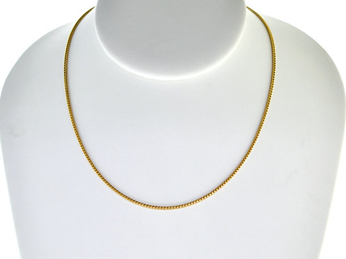 "14K Solid Box Chain 6g Link ""20"