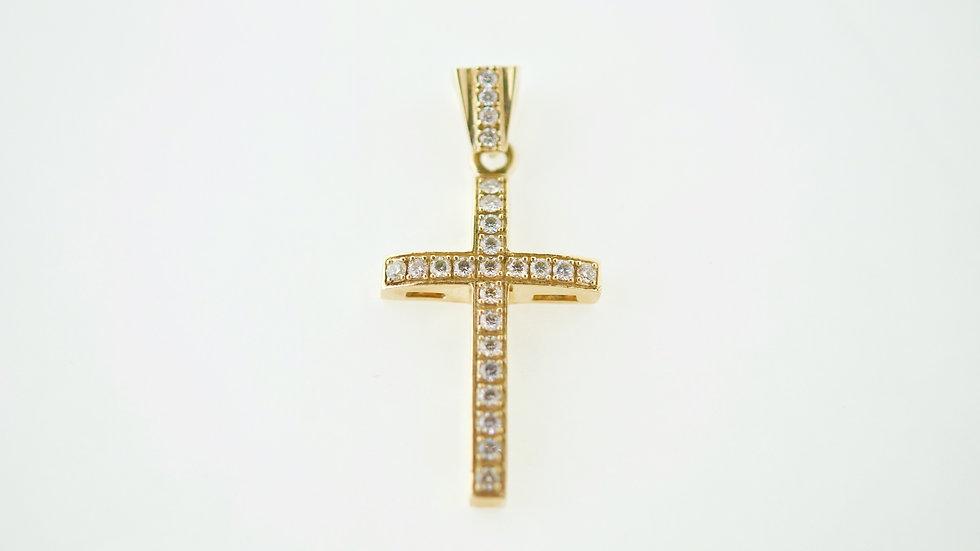 1.24 Ct Diamond Cross  11g