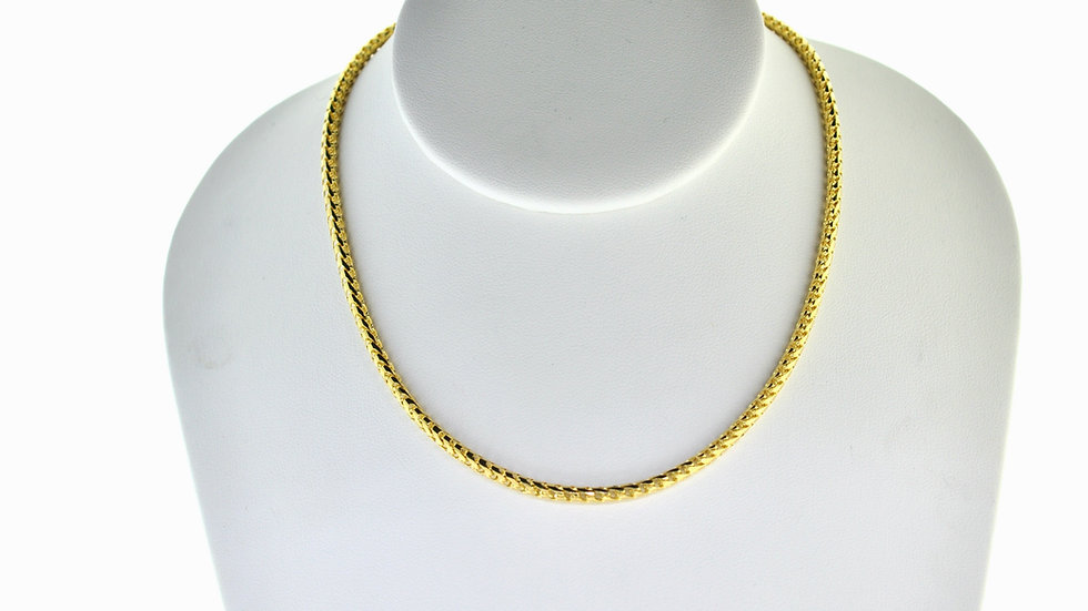 """14K Solid Franco Chain 31.59g  """"24"""