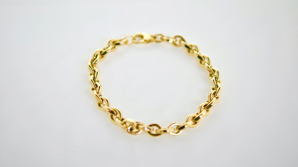 14K Solid  Rolo 6.2g