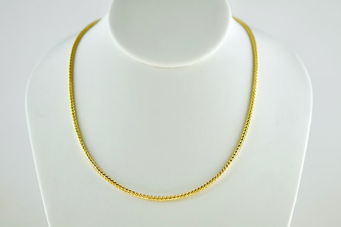"""14K Solid Franco Chain 24.4g """"26"""