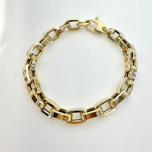 14K Rolo Chain Bracelet