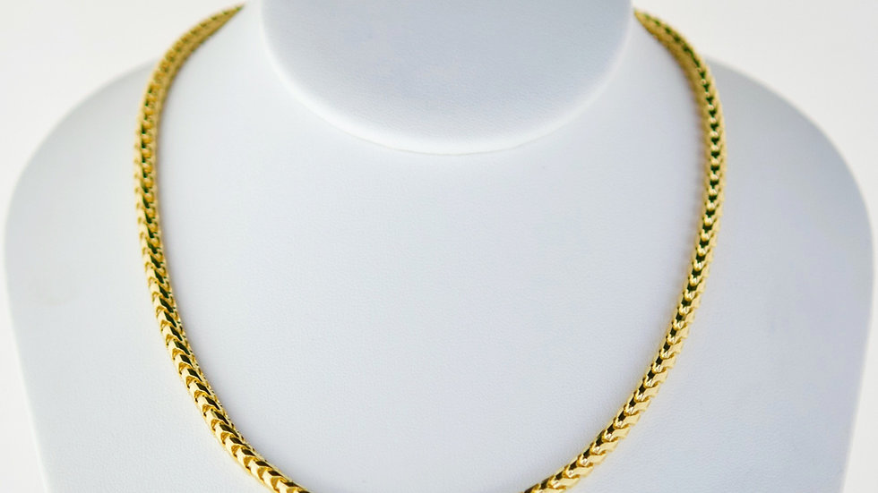 """14K Solid Franco Chain 21.3g """" 22"""