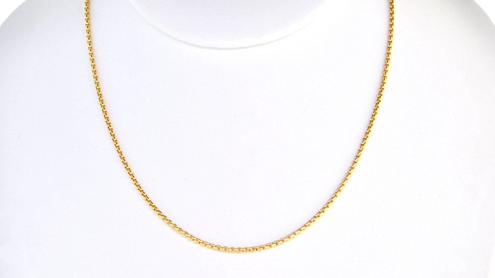 """14K Solid Rope Chain 3.9g Link """" 24"""
