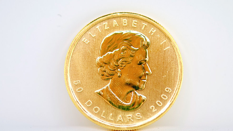 24K  Maple Leaf Coin
