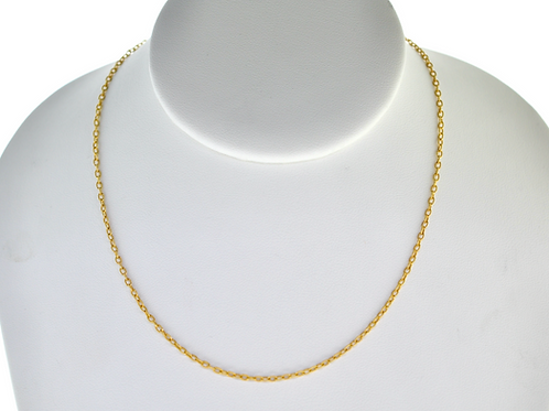 "14K Solid  Rope 3.4g  chain Link  ""20"