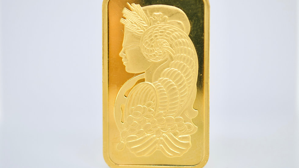 1 Ounce 24K Lady Fortune bar