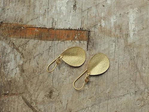 Isa Hammered Earrings