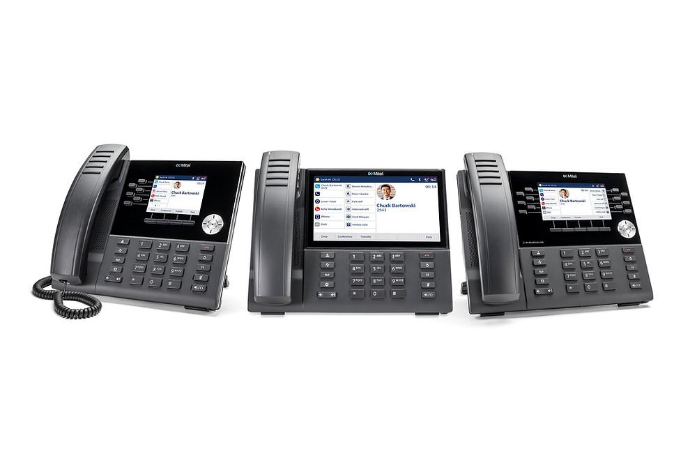 Mitel 6900-series IP Phones on MiVoice Connect