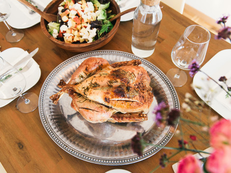 Thanksgiving Favorite: Quinoa-Cranberry Stuffed Acorn Squash