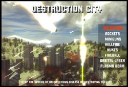 DESRTUCTION CITY