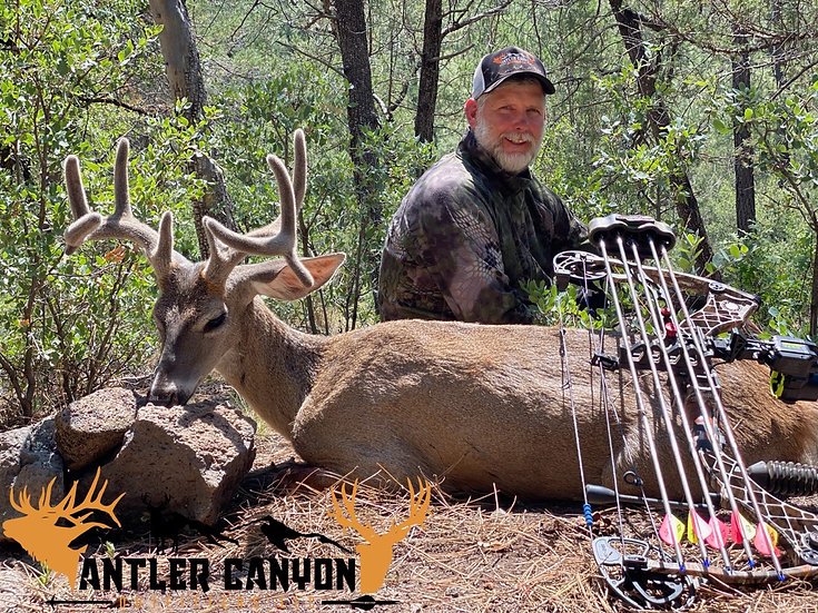 Antler Canyon Outfitters -FULLY OUTFITTED 6 DAY 1 ON 1 HUNT - 6 Tickets