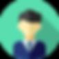 Business portrait icon