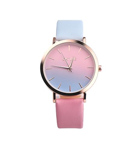 Sunset Pink Ladies Watch
