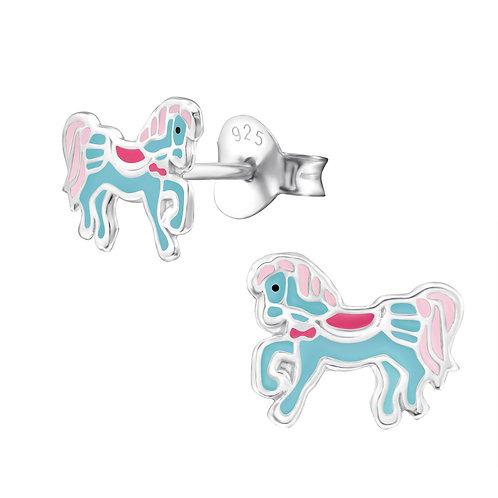 Prancing Pony Children's Earrings