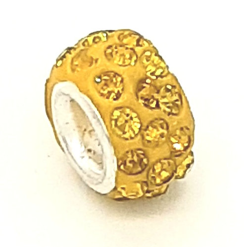 Speckled Yellow Charm