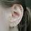 Thumbnail: Colourful Crystals Sleeper Earrings