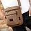 Thumbnail: Casual Canvas Messenger Bag (Coffee)