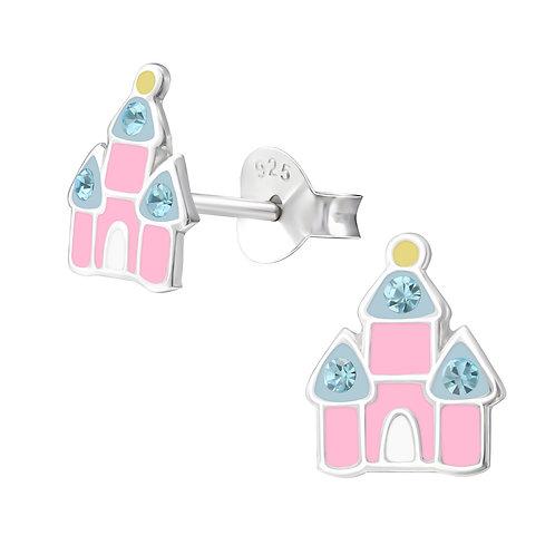Princess Castle Children's Earrings