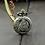 Thumbnail: Antique Bronze Vintage Eiffel Tower Pocket Watch