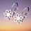 Thumbnail: Summer Flower Clip on Earrings