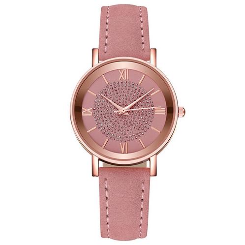 Pink Shimmer Ladies Watch