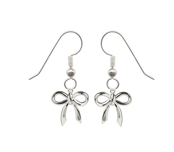 Ribbon of Hope Dangle Earrings