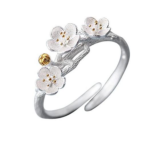 Blossom Branch Ring