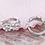 Thumbnail: Trio of Flowers Sleeper Earrings