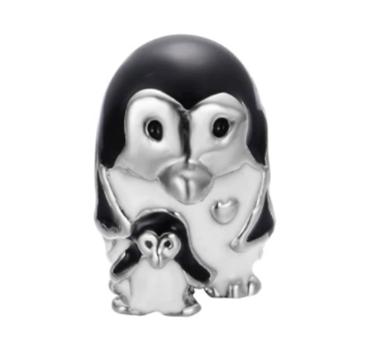 Penguin & Baby Charm