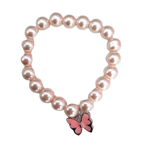Butterfly Bead Bracelet