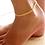 Thumbnail: Golden Arrows Anklet