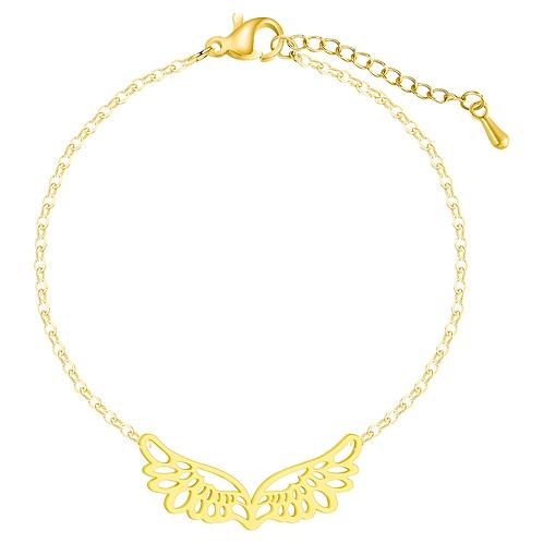 Wings of Hope Bracelet (Gold)