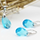 Thumbnail: Water Drop Necklace & Earring Set