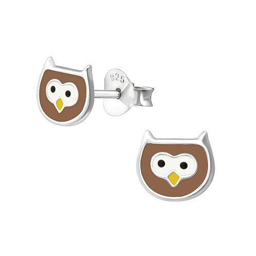 Children's Owl Earrings