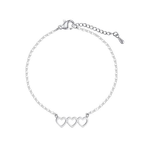 Trio of Hearts Bracelet