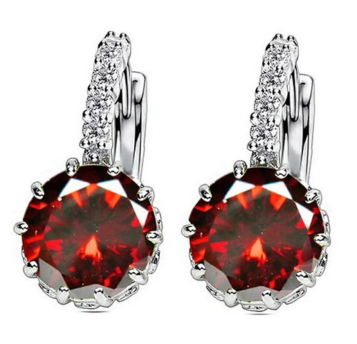 Valentines Jewel Sleeper Earrings