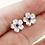 Thumbnail: Violet Blossom Earrings