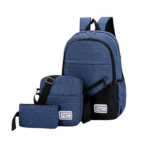 Three Piece Travel Bag Set