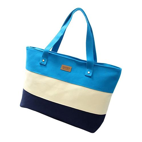 Essential Canvas Bag (Blue)