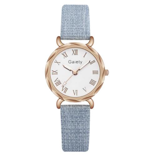 Elegant Blue Ladies Watch