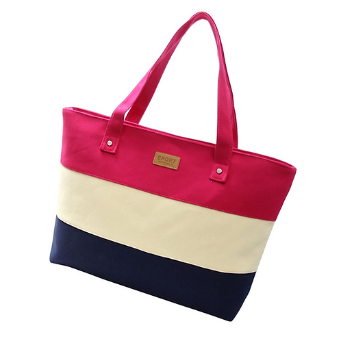 Essential Canvas Bag (Pink)